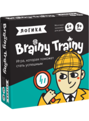 Игра - головоломка Логика Brainy Trainy