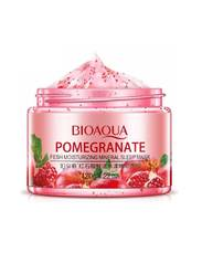 Ночная маска для лица Bioaqua Pomegranate Fresh Mineral Sleep Mask