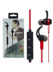 Bluetooth наушники Coman BT-3 Red