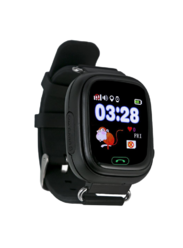 Детские gps часы Smart Baby Watch G72/Q80 wi-fi чёрные