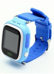 Детские gps часы Smart Baby Watch G72/Q80 wi-fi голубые